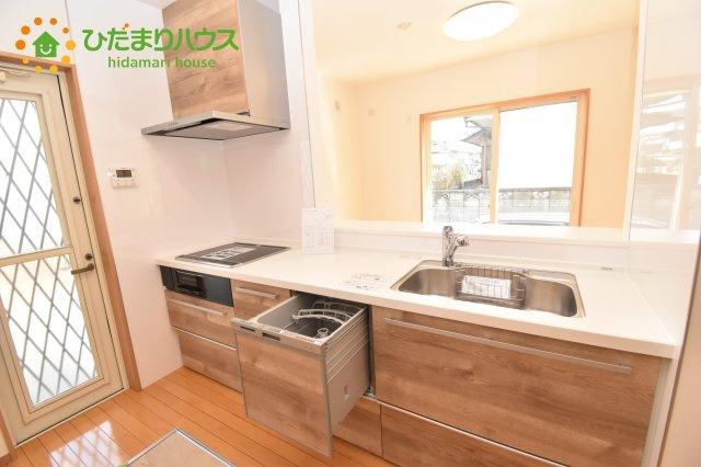【キッチン】上尾市原市 中古一戸建て