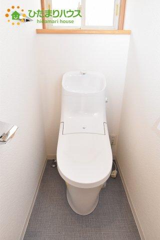 【トイレ】上尾市原市 中古一戸建て
