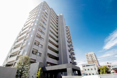 京浜東北線「川口」駅より徒歩約9分の立地。