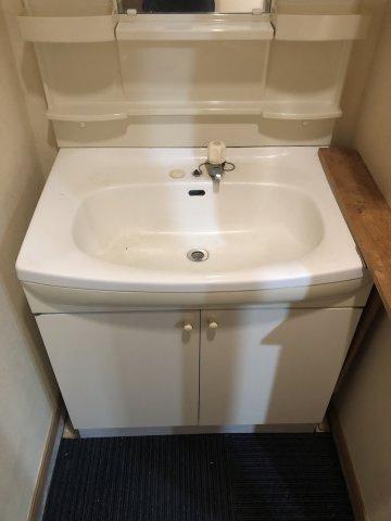 洗面台もキレイです。