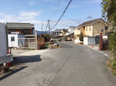 【前面道路含む現地写真】滋賀県草津市矢橋町