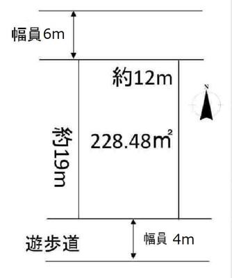 【区画図】中古戸建 北区泉台4丁目
