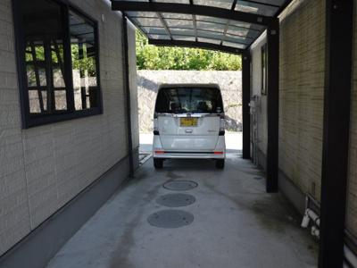 【駐車場】3-3三宅貸家