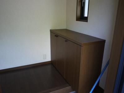 【玄関】3-3三宅貸家