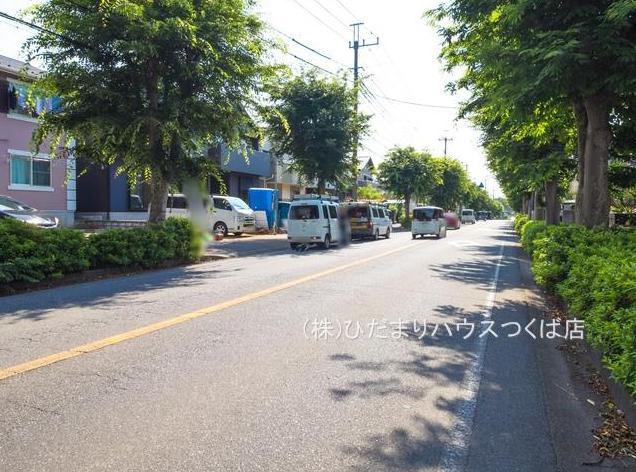 【前面道路含む現地写真】我孫子市青山台20-2期 新築戸建 1号棟