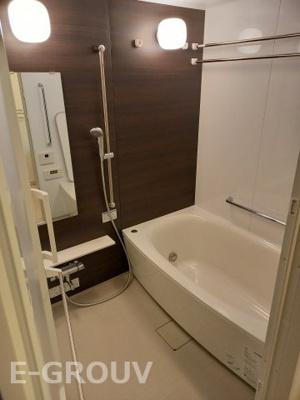 浴室乾燥機付きのユニットバスはミストサウナも付いています♪