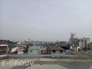 お部屋からの眺望写真です。開放的な眺望です!