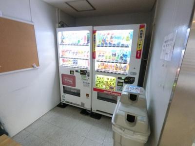 自動販売機です。
