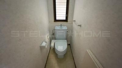 トイレもきれいです。