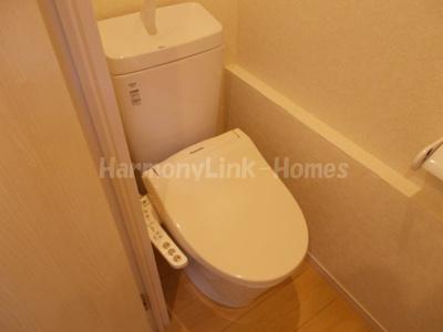 ソフィアポップのゆったりとした空間のトイレです