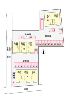 【区画図】ズューデン A