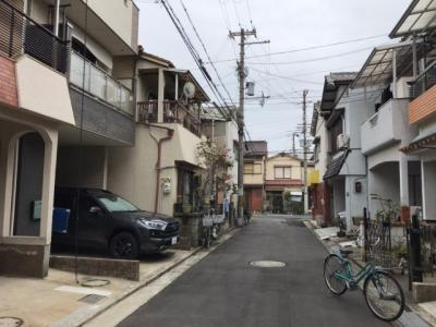 【前面道路含む現地写真】堺市堺区海山町四丁 戸建