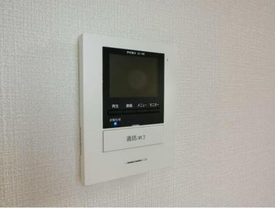 TVモニターホン完備でセキュリティ面も安心(同一仕様)