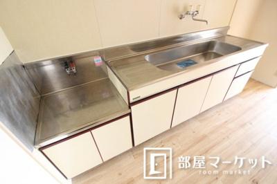 【キッチン】ハイツ3ON3