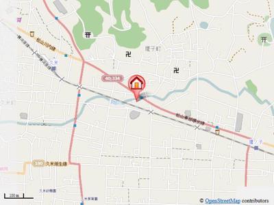 【地図】サーコート鷹子・