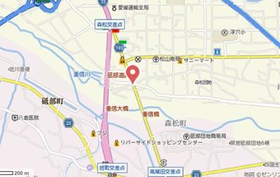 【地図】エヌワン森松