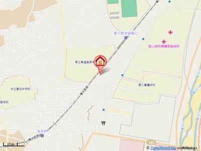 【地図】KSSマンション