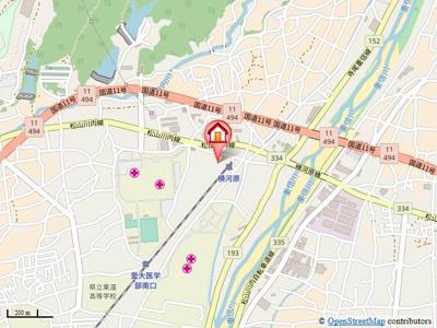 【地図】ハーバルフラット・