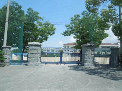 重信中学校 1656m