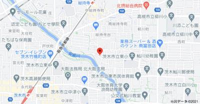 【地図】橋の内3丁目戸建て