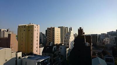 9階建7階部分からの眺望です。