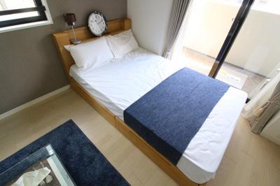 【寝室】Luxe神戸WEST