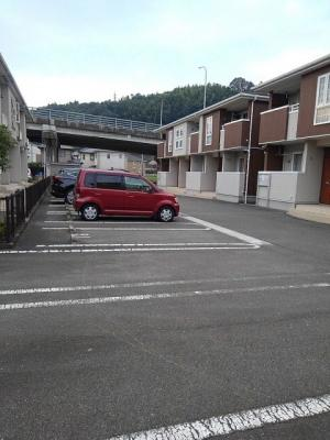 【駐車場】プラッツ渡里A