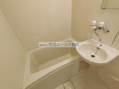 【浴室】岩崎ハイツP1