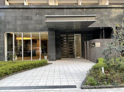 【エントランス】プレサンスタワー北浜