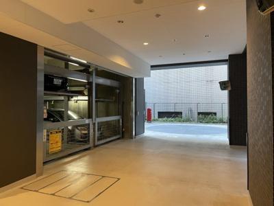 【駐車場】プレサンスタワー北浜