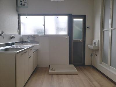 窓があり明るいダイニング☆神戸市垂水区 垂水文化 賃貸☆