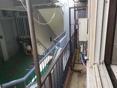 洗濯物を干す事が出来ます☆神戸市垂水区 垂水文化 賃貸☆