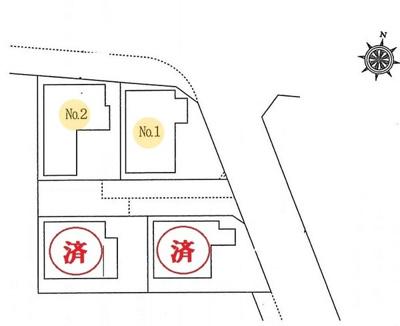 静かな住宅地に新築戸建4棟誕生です 選べる10種類よりプレゼント企画対象物件です! 是非お早めにお問い合わせください!