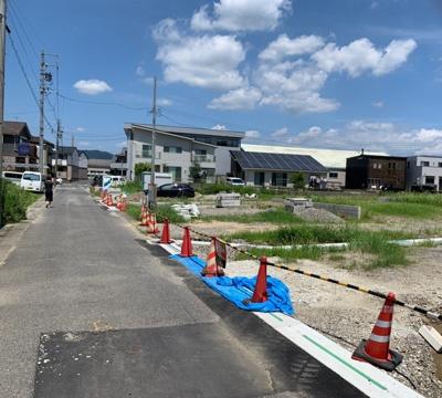 【前面道路含む現地写真】蒲郡市形原町 ■建築条件なし売地 ■一押し物件