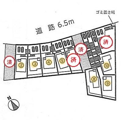 静かな住宅地に新築戸建11棟誕生です。新生活応援に選べる10種類よりプレゼント企画対象物件です!是非お早めにお問い合わせください!