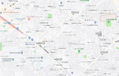 【地図】ジースタイル平和台