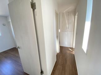 2階ホールにも半間の収納確保!