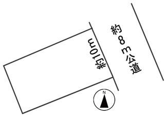 【区画図】56462 岐阜市上土居土地