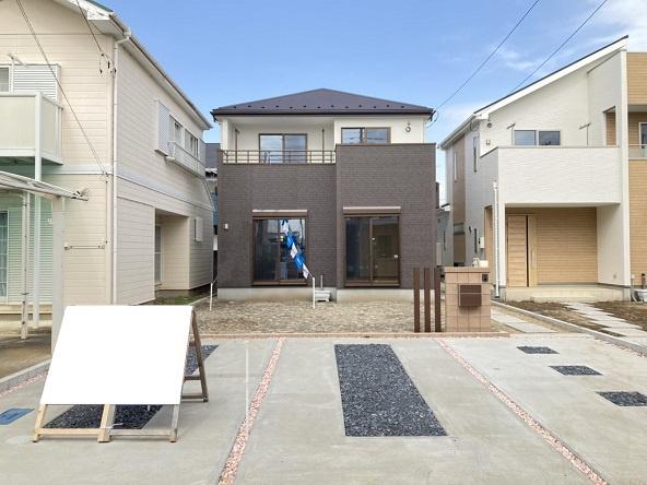 【外観】水戸市松が丘新築 1号棟