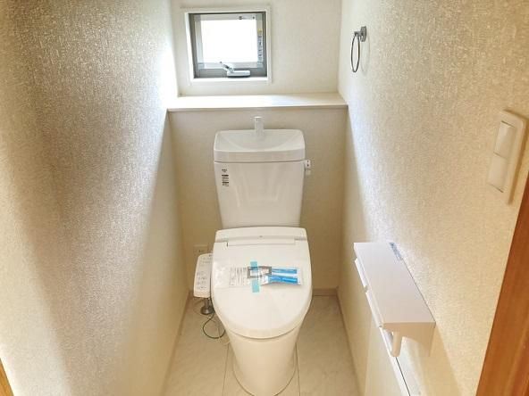 【トイレ】水戸市松が丘新築 2号棟