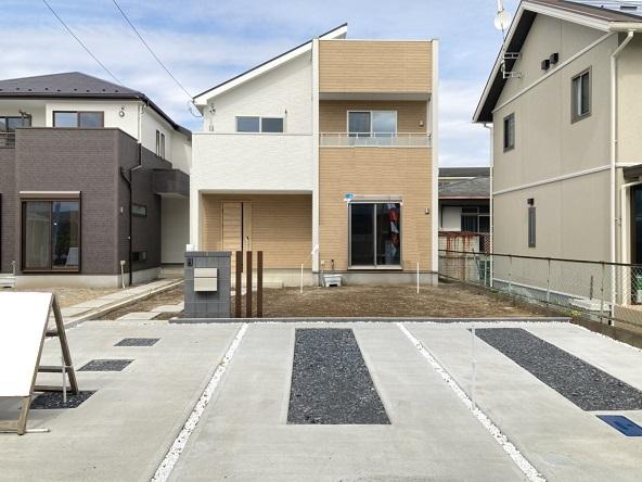 【外観】水戸市松が丘新築 2号棟