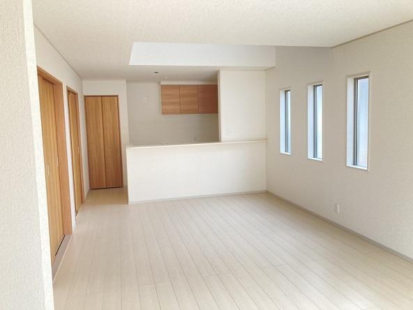 【居間・リビング】水戸市松が丘新築 2号棟