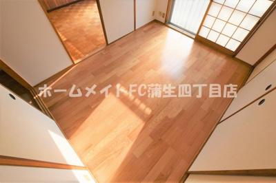【寝室】シャンポール関目