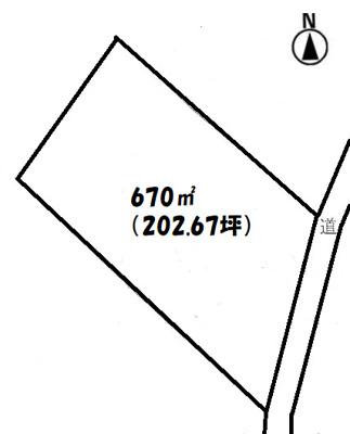 【外観】埼玉県坂戸市堀込売地