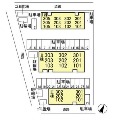 【区画図】ヴァンベール東川口 Ⅰ/Ⅱ/Ⅲ