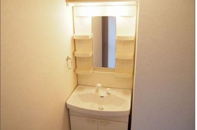独立洗面台あり、毎朝おしゃれに忙しい女性の方におすすめです 【COCO SMILE ココスマイル】