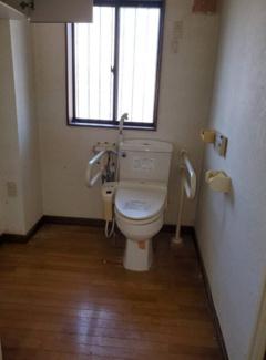 【トイレ】福島県いわき市内郷御台境町一棟アパート