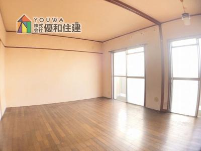 【居間・リビング】大久保東第一住宅 22号棟