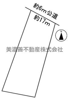 【区画図】56473 各務原市小佐野町土地