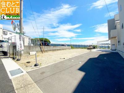 【土地図+建物プラン例】神戸市垂水区 南多聞台A号地
